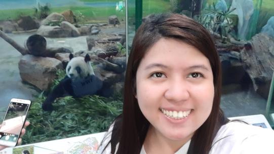 Panda selfie! :)