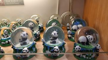 Snow Globe Panda