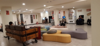Common area at Hotel Fun