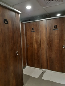 Shared restrooms