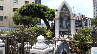 Mama Mary's grotto