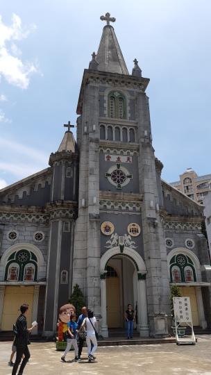 Basilica's facade