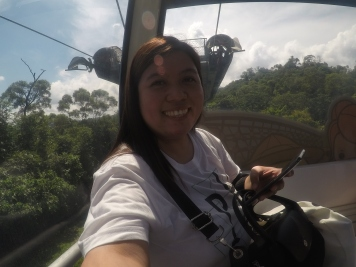 My first cable car ride :)