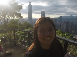 Selfie with Taipei 101